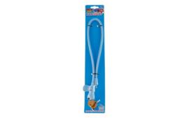 PexKids kabelslot Flappie de waakhond met 2 sleutelkoekjes - ø10 mm x 58 cm - blauw