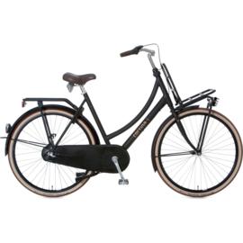 Cortina U4 N3 dames transportfiets Jett Black mat