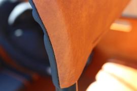 Zonneluifel Deluxe Superior 7dr Cognac/Zwart