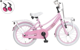 Popal Lola 18 inch roze / wit
