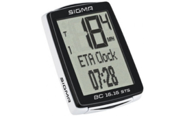 SIGMA Fietscomputer Sigma BC 16.16 STS - draadloos