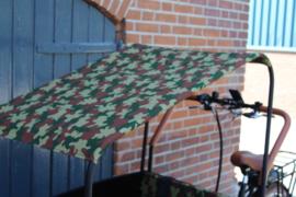 Troy/ Supreme zonneluifel camouflage/ leger print