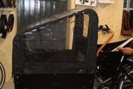 Juletina A kwaliteit TROY E-Special bakfiets huif +raam in dak