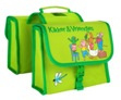 WILLEX KIKKER dubbele bagagetas groen kids