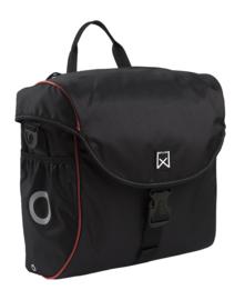 WILLEX Pakaftas 300 19L zwart/ rood