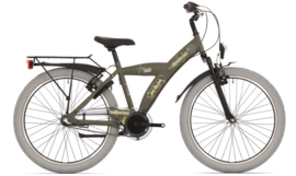 Bike Fun Camouflage 24 inch N3 legergroen