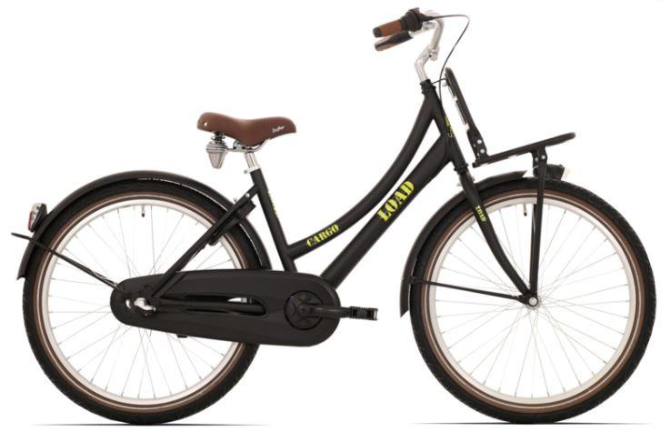 Bike Fun Cargo Load 24 inch N3 mat zwart