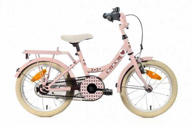 Bike Fun Lots of Love 18 inch roze