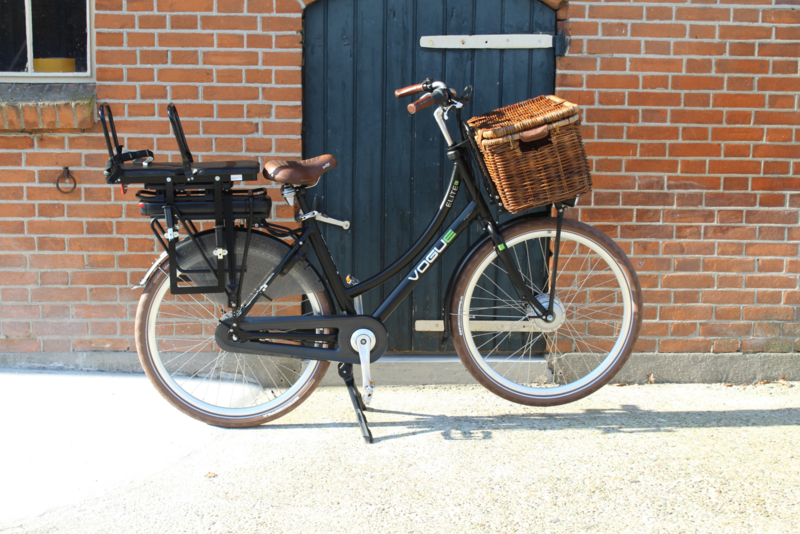 JoCo dubbel kinderzitje e-bike 'dragerbevestiging'