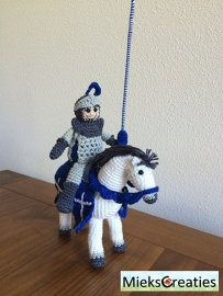 Crochetpattern  Knight on horseback