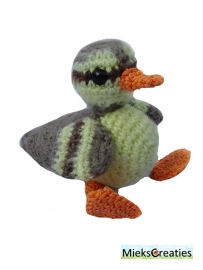 Duck crochetpattern