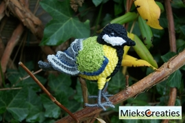 Great Tit crochetpattern
