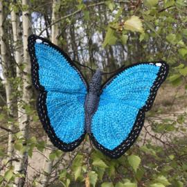 Crochet pattern Morpho Butterfly