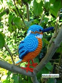 3 Birds crochetpatterns  for 10 euro