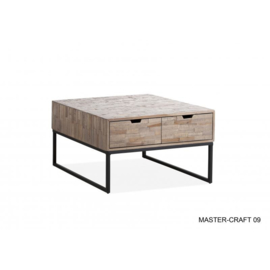 MASTERCRAFT-09 SALONTAFEL 2 LADEN TEAK