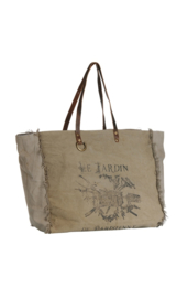 Terre Rouge Canvas Bag XL beige