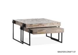 Salontafel Mastercraft set van 2