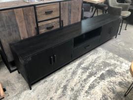 TV meubel zwart 220cm