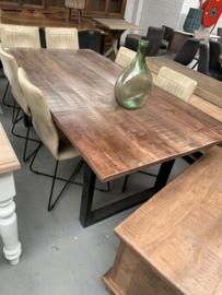 Tafel hout 200x100 cm