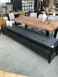 Nieuw TV meubel Strong XL zwart