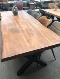 Boomstam tafel 240cm