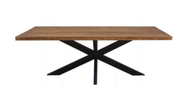 Tafel spinpoot mango brown