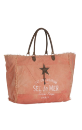 Terre Rouge Canvas Bag XL