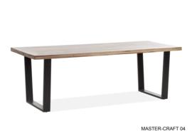 Eettafel mastercraft 220 x 90