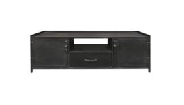 TV meubel zwart metaal