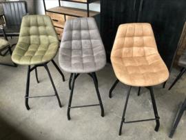 Barstoelen industrieel Sven + voetensteun