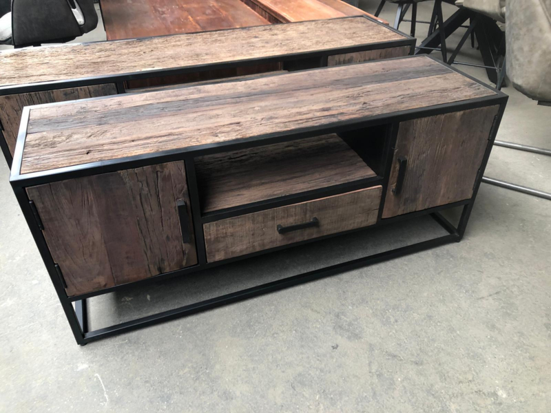 TV meubel 130 railway wood
