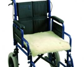 Schapenvacht voor op rolstoel/scootmobiel