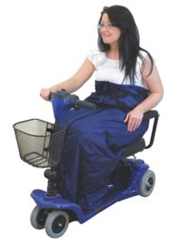Voeten-/beenzak gevoerd (geschikt voor rolstoel)