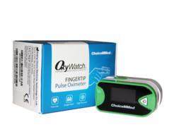 Saturatiemeter (oximeter zuurstofmeter) en hartslagmeter