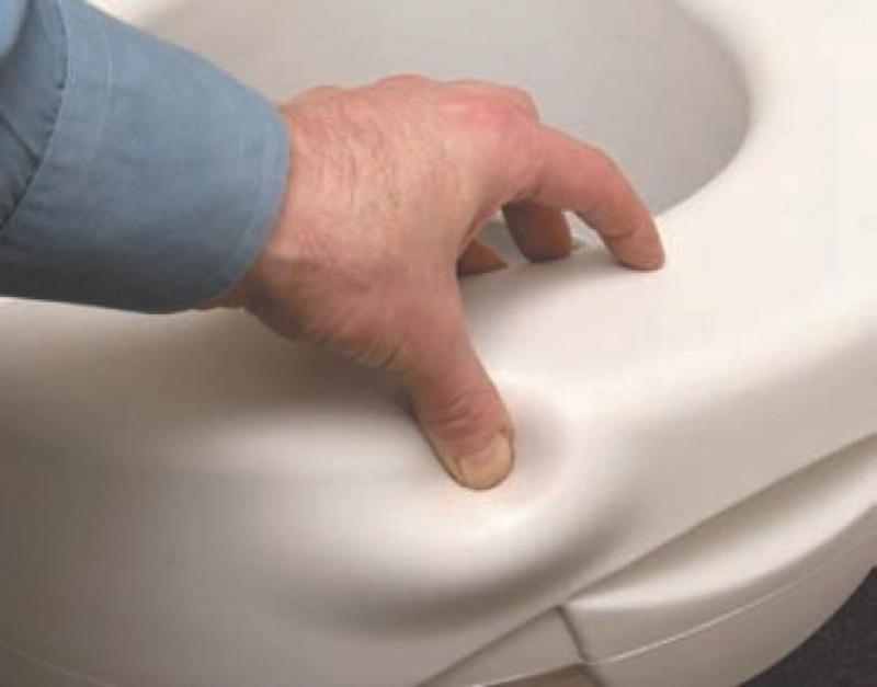 Toiletverhoger polyurethaan