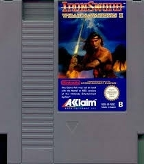 Ironsword: Wizards & Warriors II ( PAL B ) Nintendo NES 8bit (C.2.4)