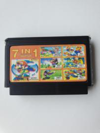 Famicom Super 7 in 1 game (C.2.7)