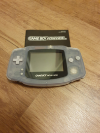Nintendo Gameboy Advance GBA doorzichtig paars (B.1.4)