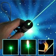 Laserpen laserpointer EXTREME, Focus - burning brandpunt en kalydoscoop green laser