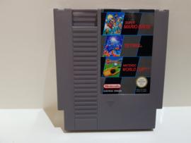 Super Mario Bros - Tetris - Nintendo World Cup - Nintendo NES 8bit - Pal B (C.2.4)