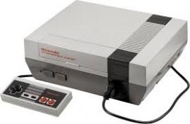 Nintendo NES 8 BIT Console's
