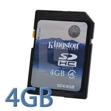 Kingston SD SDHC 4GB class 4