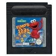 Elmo's - 123s - Nintendo Gameboy GB / Color / GBC / Advance / GBA (B.5.1)