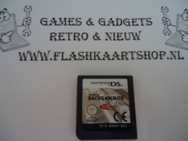 Backgammon - Nintendo ds / ds lite / dsi / dsi xl / 3ds / 3ds xl / 2ds (B.2.2)
