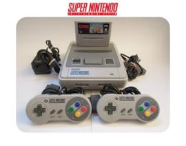 Super Nintendo Console 16 Bit SNES 2x controller Mario Kart pack