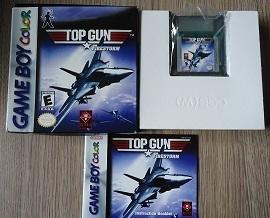 Top Gun Firestorm - Nintendo gameboy Color GBC