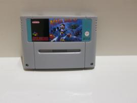 Mega Man X EUR Versie Engels Taal Repro - Super Nintendo / SNES / Super Nes spel