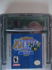 The Legend of Zelda Oracle of Ages Nintendo Gameboy Color GBC (B.6.1)