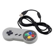 Super Nintendo SNES USB Controller, ideaal voor retro games op uw pc laptop tv of raspberry of macos