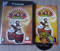 Donkey Konga - Nintendo Gamecube GC NGC  (F.2.1)